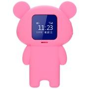 纽曼 嗨嗨兔L100粉色 儿童电话手表智能穿戴手环 360度防护通话手表 GPS定位防丢追踪器