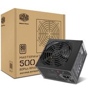 酷冷至尊 额定500W MASTERWATT LITE 500W电源(80Plus白牌/全台系电容/85%效率/三年换新)