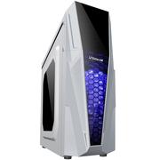 至睿 极客KC90白色 中塔机箱 游戏电脑机箱(USB3.0/侧透/ATX大板/支持长显卡)