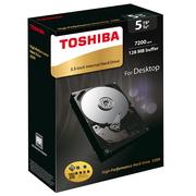 东芝 X300系列 5TB 7200转128M SATA3 台式机硬盘(HDWE150AZSTAU)