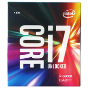 英特尔 Extreme系列 酷睿六核i7-6800K 2011-V3接口 盒装CPU处理器
