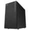 爱国者 黑曼巴静音机箱黑色(抗指纹烤漆/USB3.0*2/长显卡/支持背线/配2把静音风扇)产品图片1