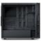 爱国者 黑曼巴静音机箱黑色(抗指纹烤漆/USB3.0*2/长显卡/支持背线/配2把静音风扇)产品图片4