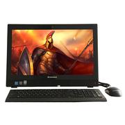 联想 扬天S4150 21.5英寸一体电脑 (G4400T 4G 1T 1G独显 Wifi DVD刻 win7-64位)黑色