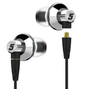 达音科 TITAN-5 钛振膜入耳式HIFI手机音乐耳机 银色