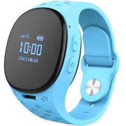 酷派 小Q儿童智能电话手表 GPS等四重定位 插卡通话可悬挂佩戴 防水防丢 王子蓝 KW60