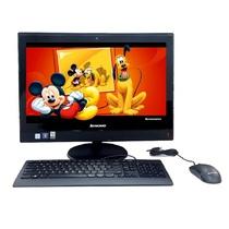 联想 扬天S4150 21.5英寸一体电脑 (i5-6400T 8G 8G+2T 2G独显 Wifi DVD刻 win7-64位)黑色产品图片主图