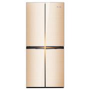 奥马 BCD-406DEK 406升 十字对开门 多门冰箱(金色)