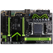 铭瑄 MS-A88 Gaming PRO 主板(AMD A88X/Socket FM2+)