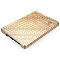 忆捷 S606 2.5英寸SATA3 SSD固态硬盘120G笔记本台式机均可用全金属金色产品图片主图
