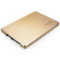 忆捷 S606 2.5英寸SATA3 SSD固态硬盘120G笔记本台式机均可用全金属金色产品图片1