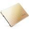 忆捷 S606 2.5英寸SATA3 SSD固态硬盘120G笔记本台式机均可用全金属金色产品图片4