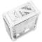 超频三 暴雪 白色 全塔式机箱(支持ATX大板/标配4个12CM风扇/1个LED灯条/水冷/长显卡)产品图片4