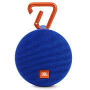 JBL Clip2 便携蓝牙音箱 户外无线迷你小音响 防水设计 超长播放 高保真无噪声通话 音乐盒2 蓝色