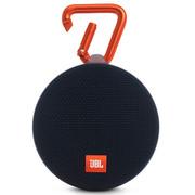 JBL Clip2 便携蓝牙音箱 户外无线迷你小音响 防水设计 超长播放 高保真无噪音通话 音乐盒2 黑色