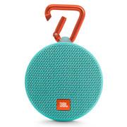 JBL Clip2 便携蓝牙音箱 户外无线迷你小音响 防水设计 超长播放 高保真无噪声通话 音乐盒2 绿色