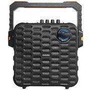 飞利浦 SD60 户外音响 音箱 蓝牙连接 USB TF卡播放 有线/无线麦克风