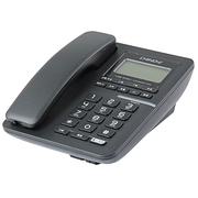 中诺 G099 单键拨号/静音/音量可调可关/来电指示灯/商务办公座机电话机/家用固定电话 黑色