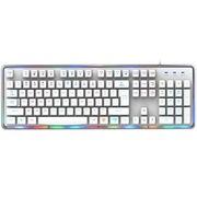 宜博 EKM725WHUS-NU 七色背光机械键盘手感   有线背光游戏键盘 流星版