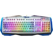 宜博 EKM745WHUS-NU k745七色背光键盘 悬浮式金属键盘 白色