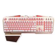 狼派 G17 虚空战舰2代 lol背光键盘手托 机械手感防水游戏键盘