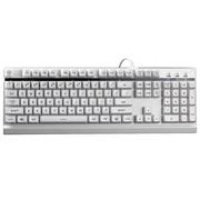 狼派 G12 虚空风暴机械手感防水游戏键盘 白色