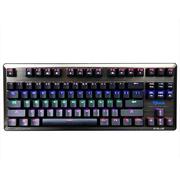 宜博 EKM727BBUS-IU K727六色混彩机械键盘 87键 黑色 黑轴