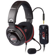 乌龟海岸 Z60 PC游戏耳机 DTS环绕立体声 快捷的内联控制板 动态聊天增强技术 麦克风侦听