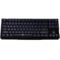 iNSIST Fortress G55 机械式游戏键盘 87键黑色(cherry樱桃红轴)产品图片1