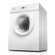 CTT GYJ75-98E 7.5kg微电脑全自动滚筒式烘干机家用商用衣服烘衣机干衣机 滚筒双向转动 衣物不缠绕 白色