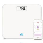 香山 EB829i JD+智能蓝牙电子称体重秤 至臻纯白 京东微联App控制