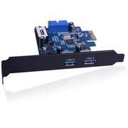 金胜 PCI-E转USB3.0双口扩展卡(KS-U34P2NP)