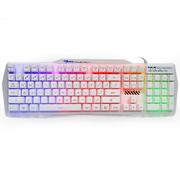 宜博 EKM750WHUS-NU K750背光游戏键盘 白色 普通版