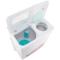 威力 XPB95-9518BS(白水晶)9.5公斤 半自动双缸洗衣机 双电机双动力产品图片4