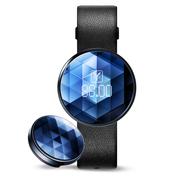 刷刷手环 全能钻石款 交通卡NFC支付智能记步运动计步器 睡眠监测 蓝色