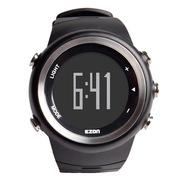 宜准 手表 户外运动系列跑步防水手表电子男表黑色T023B01