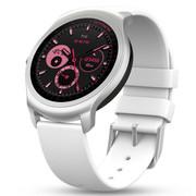 Ticwatch 2 智能手表悦动系列(白硅胶表带)语音手势触摸ticwear系统 蓝牙通话手表 防水GPS记步测心率