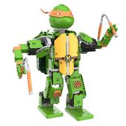 Game Robo 优必选忍者龟-米开朗基罗智能积木机器人电动遥控拼装玩具