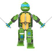 Game Robo 优必选忍者龟-莱昂纳多智能积木机器人电动遥控拼装玩具