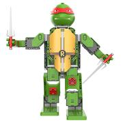 Game Robo 优必选忍者龟-拉斐尔智能积木机器人电动遥控拼装玩具