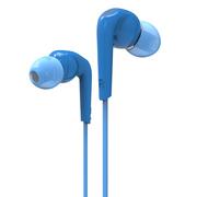 迷籁 RX18入耳式耳机 被动降噪HiFi音乐耳机 高保真10mm动圈 蓝色