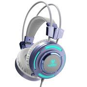 雷柏 MISS定制版VH200炫光游戏耳机