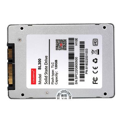 七彩虹 SL300 120GB  SATA3 SSD固态硬盘产品图片4