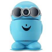 易视眼 秀拍宝贝 QQ物联版 百万高清无线网络摄像头 720P夜视手机监控 插卡云台摄像机