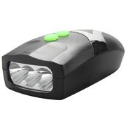 九悦 车灯HL1001 夜骑自行车前灯 电池强光LED灯 骑行装备单车换板车等配件前灯
