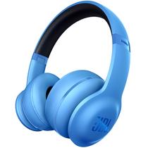 JBL V300BT 头戴贴耳式无线蓝牙耳机/音乐耳机 蓝色 支持音乐分享功能产品图片主图