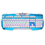 宜博 EKM729WBUS-IU K729六色混光机械键盘  104键 白色 黑轴