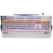 宜博 EKM751WGUS-NU K751六色混光机械键盘 104键 白色 青轴