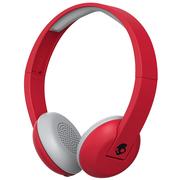 斯酷凯蒂 骷髅头 UPROAR 头戴式无线蓝牙通话耳机 红色