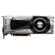 影驰 GeForce GTX 1070 Founders Edition 1506(1683)MHz/8008MHz 8G/256Bit D5 PCI-E显卡